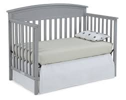 when to convert crib into toddler bed amazon com graco benton convertible crib pebble gray baby