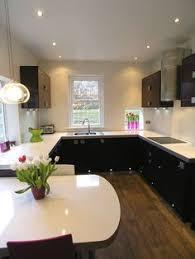 eggplant purple kitchen cabinets stainless steel modern
