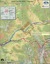 Keystone Colorado Map by Upper Colorado Whitewater Rafting River Trips Wilderness Aware