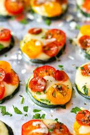 mini zucchini pizzas recipe eatwell101