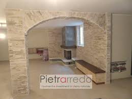 arco in pietra per interni rivestimento per archi interni rivestimenti in pietra naturale con