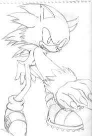 sonic the werehog coloring pages kids coloring free kids coloring