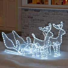 Outdoor Reindeer Christmas Decorations Uk by Outdoor Decorations Christmas Decorations