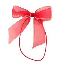 gift box bows 1 pre organza bow with elastic for gift box pre made sheer