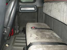 Dodge Truck Bench Seat Club Cab Rear Bench Conversion Finished Dodge Diesel Diesel