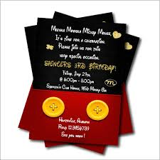 mickey mouse party decorations 20 pcs lot mickey mouse birthday party invitation baby shower