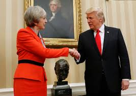trump oval office pictures trump and uk u0027s may discuss jerusalem agree on importance of us