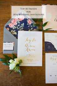 wedding invitation stationery 10 wedding invitation trends for 2016