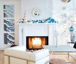 White Christmas Mantel Ideas by 40 Incredible Christmas Mantel Ideas Nifymag Com