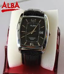 Jam Tangan Alba Emas alba kalep hitam kotak jam tangan murah