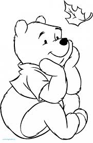 coloriage winnie carte awesome winnie the pooh thanksgiving coloring