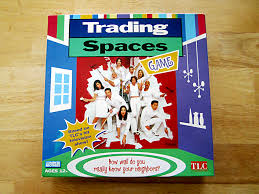 trading spaces trading spaces game game night guys