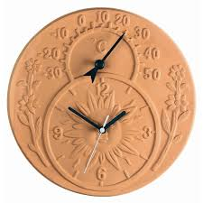 terracotta garden wall clocks u2013 garden ftempo