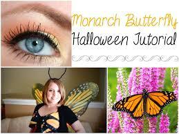 Halloween Makeup Butterfly by Monarch Butterfly Halloween Tutorial U0026 Costume Youtube