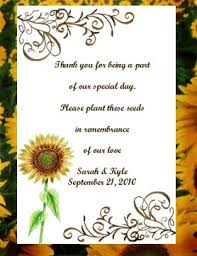 sunflower seed wedding favors sunflower seed favors 2 00 each www partyfavorwebsite