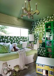 layering green in a girls bedroom home remodeling ideas for nature