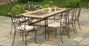 wrought iron outdoor dining table a picture perfect outdoor space with wrought iron patio furniture