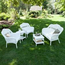 Resin Wicker Patio Furniture Clearance Outdoor U0026 Garden Fiji Resin Wicker Patio Furniture Set With Round