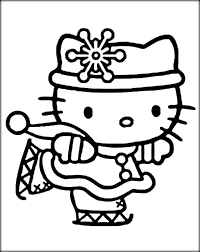 winter scene coloring winter coloring pages kids