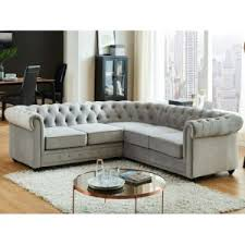 canap chesterfield gris canape chesterfield velours gris comparer 40 offres