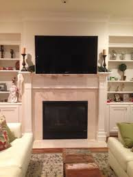 fireplace tv mount binhminh decoration