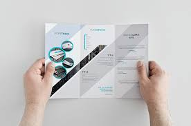 tri fold brochure template free download 25 best free corporate brochure template design psd