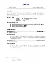 sle professional resume template investment banking resume template student sle cover