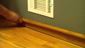 Hardwood Floor Molding Why A Floorwright Might Install Baseboard And Baseshoe With A Wood
