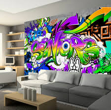 photo wallpaper wall murals non woven graffiti art modern zoom