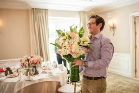 wedding flowers groom showers photos groom to be surprises with