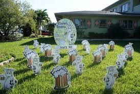 Birthday Lawn Decorations Flock N Surprise 321 430 6454 And 727 687 8111 Longwood Florida