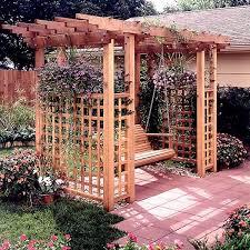 Trellis Arbor Designs 44 Best Swing Grapevine Images On Pinterest Garden Ideas
