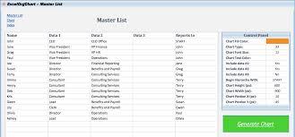 Org Chart Template Excel Organizational Chart Template Excel Excel Org Chart