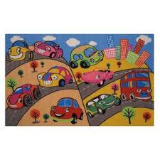 kids u0027 cars trucks u0026 trains rugs you u0027ll love wayfair