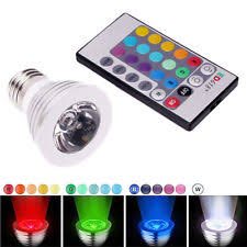 rechargeable emergency led light bulb 7w e27 remote control ebay
