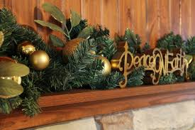 decorations christmas minimalist christmas mantel decoration