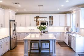 what color cabinets match black granite should your kitchen cabinets match your flooring