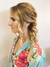 side braid hairstyles braided updo fishtail braid messy side