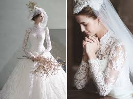 timeless wedding dresses the modesty trend 27 timeless wedding dresses with graceful high