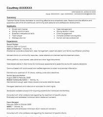 Home Child Care Provider Resume Best Social Worker Resume Example Livecareer
