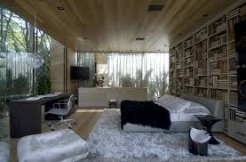 wood ceiling designs living room bedroom with glass walls and wood ceiling interior design ideas