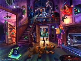 free halloween background 1024x768 46 scooby doo high resolution wallpaper u0027s collection