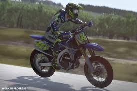 fastest motocross bike in the world valentino rossi the game features revealed red bull