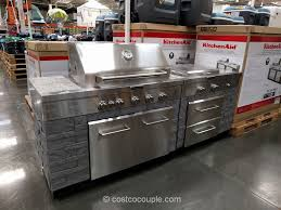 costco kitchen furniture kitchen aid 7 burner outdoor island gas grill costco 2 jpg