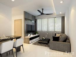 hougang blk 932 3 room bto promesa artz interior design