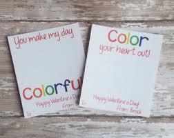 crayon valentines printable crayon card crayon card school