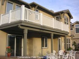 balconies cornerstone patio covers decks balconies serving