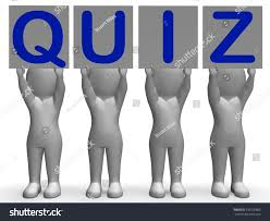 quiz banners meaning quiz games questions stock illustration