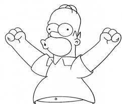 The Simpsons Coloring Pages Homer Color Ins Cool Coloring Color Ins