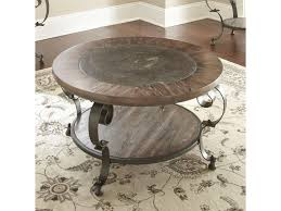 steve silver coffee table steve silver mulberry mu200c scroll legged round cocktail table with